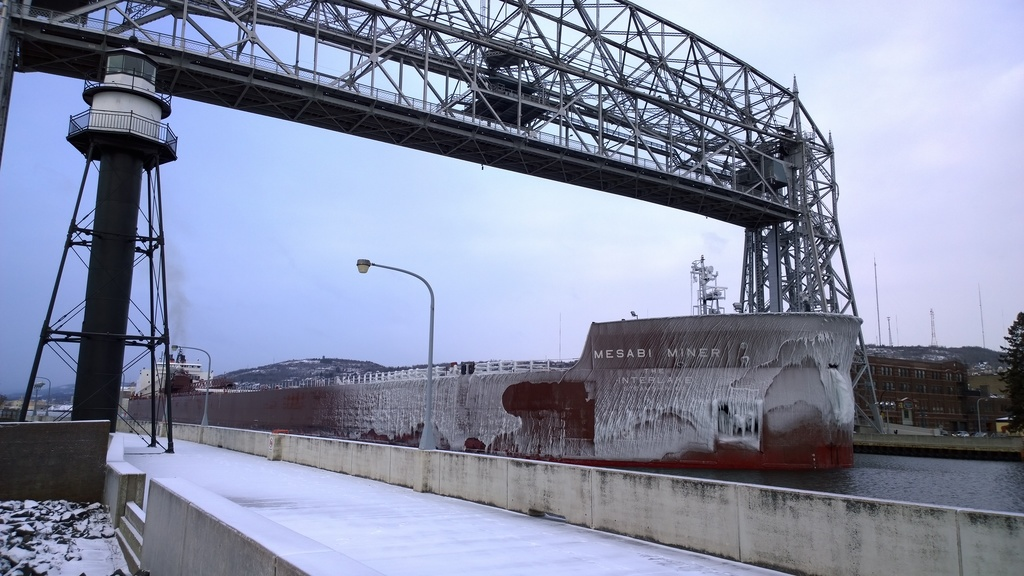 picture of great lakes ship: Mesabi Miner