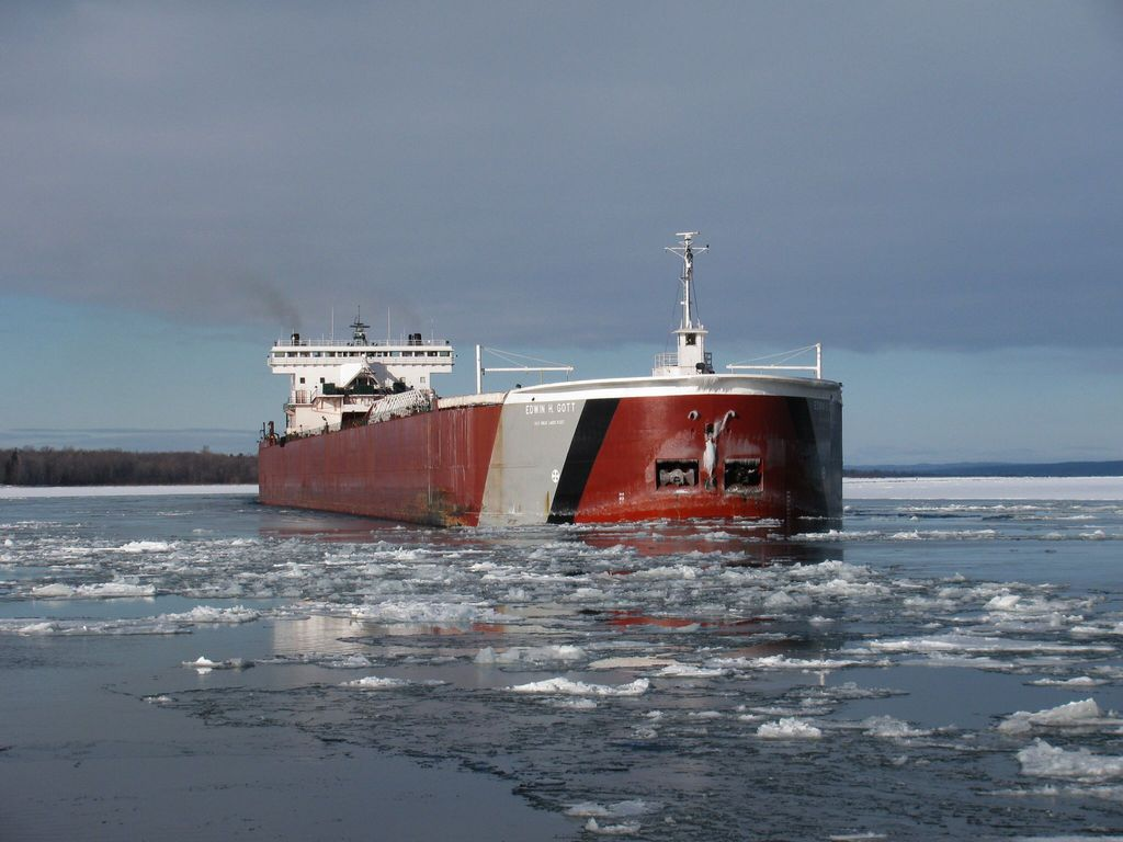 picture of great lakes ship: Edwin H. Gott