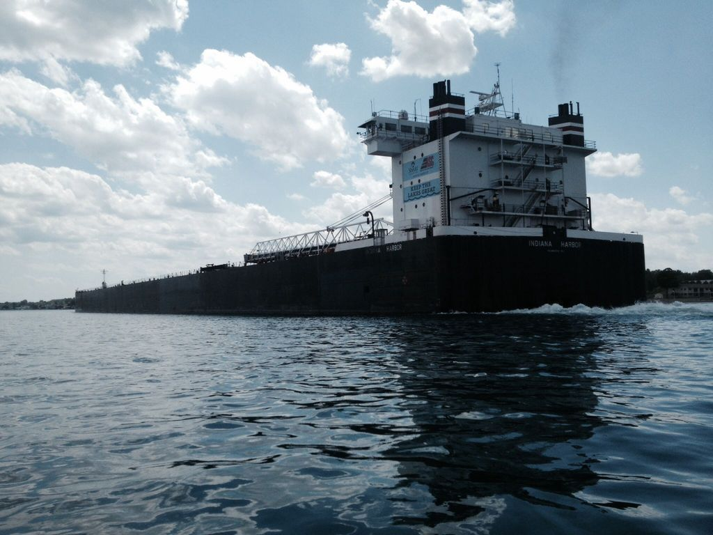 picture of great lakes ship: Indiana Harbor