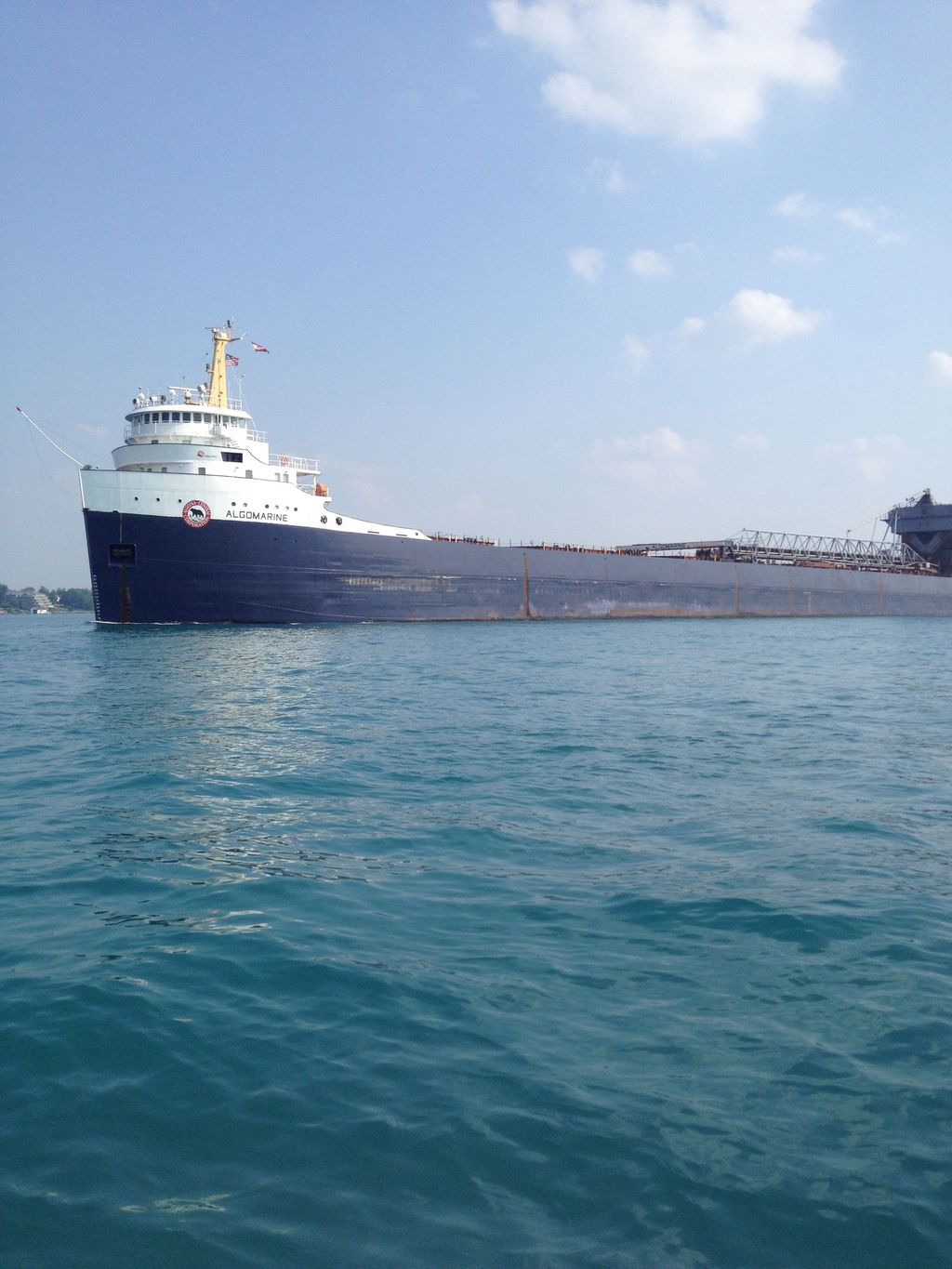 picture of great lakes ship: Algomarine