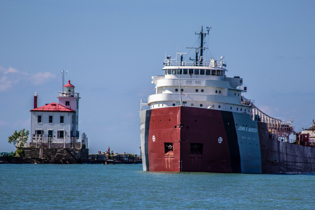 picture of great lakes ship: John G. Munson