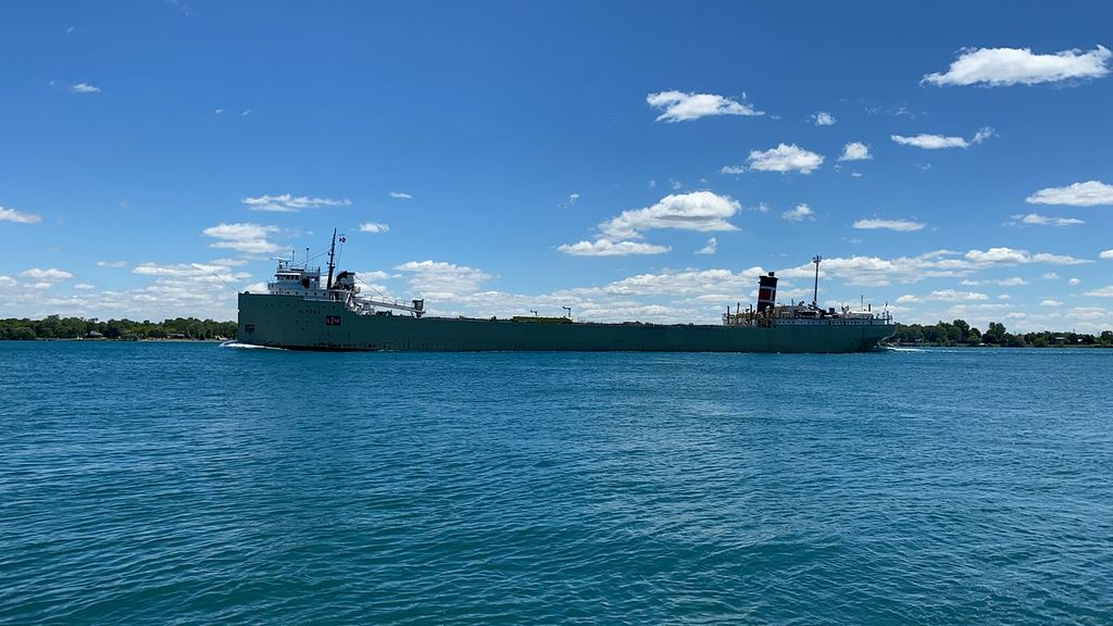 picture of great lakes ship: Alpena