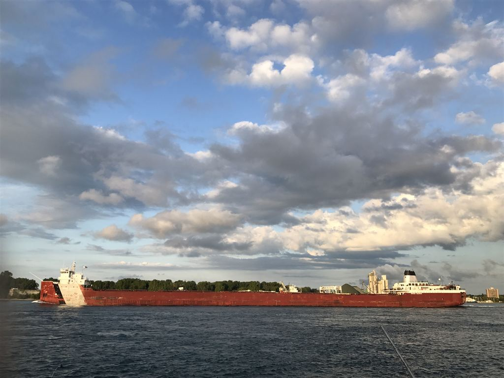 picture of great lakes ship: Roger Blough