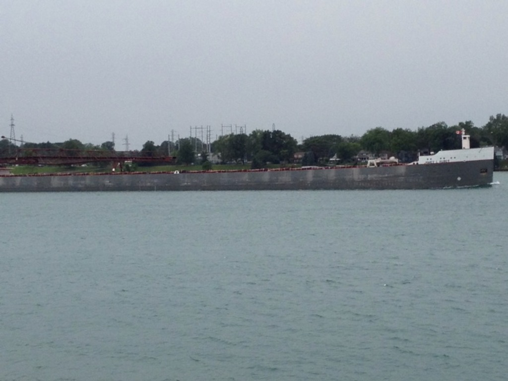 picture of great lakes ship: James L. Kuber (barge)