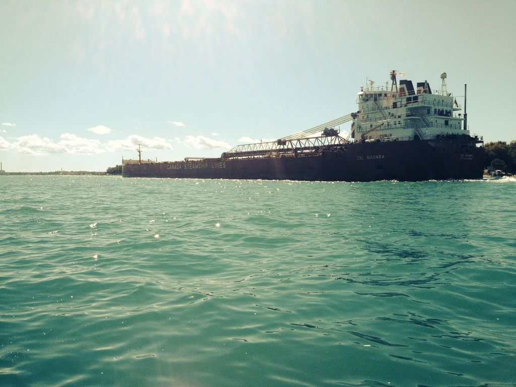 picture of great lakes ship: CSL Niagara