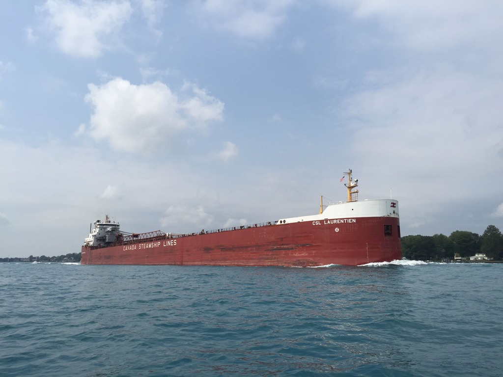 picture of great lakes ship: CSL Laurentien