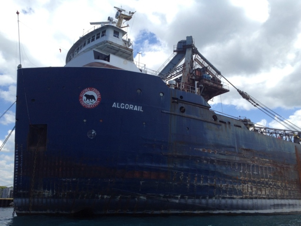 picture of great lakes ship: Algorail