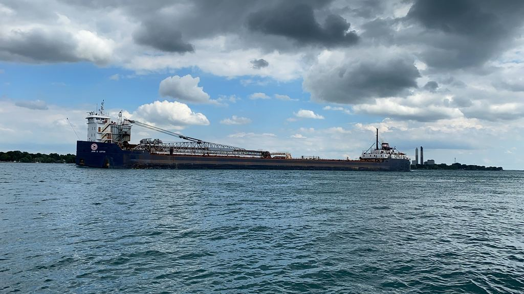 picture of great lakes ship: John D. Leitch