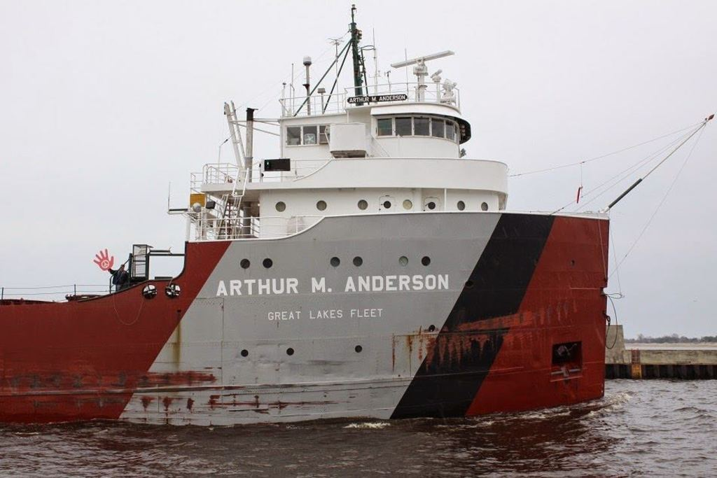 picture of great lakes ship: Arthur M. Anderson