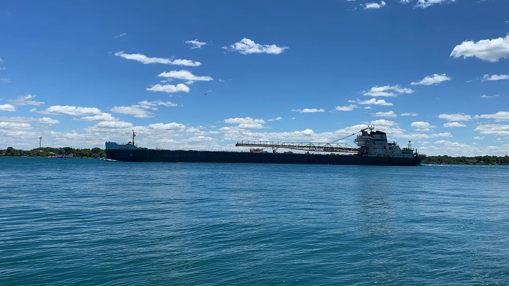 picture of great lakes ship: Calumet