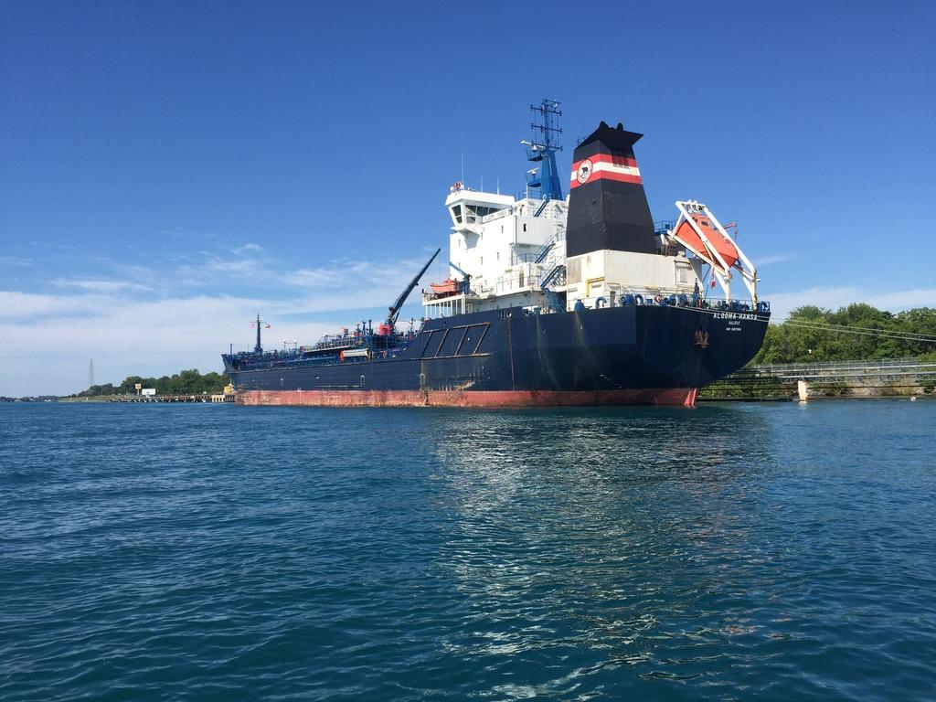 picture of great lakes ship: Algoma Hansa
