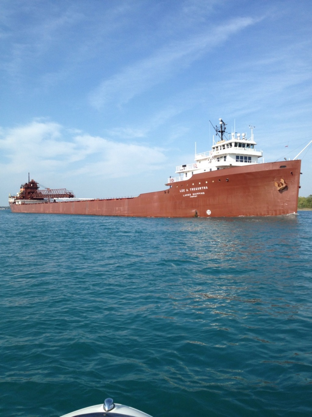 picture of great lakes ship: Lee A. Tregurtha