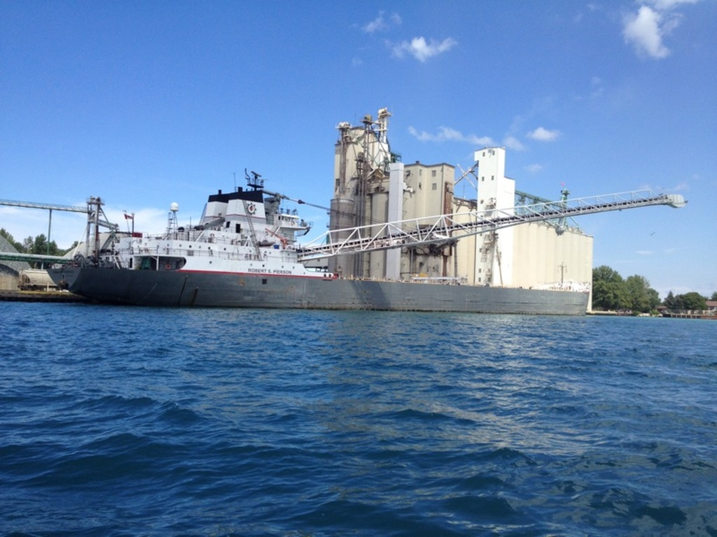 picture of great lakes ship: Robert S. Pierson