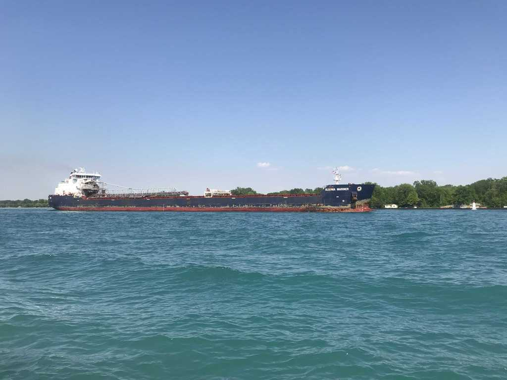 picture of great lakes ship: Algoma Mariner